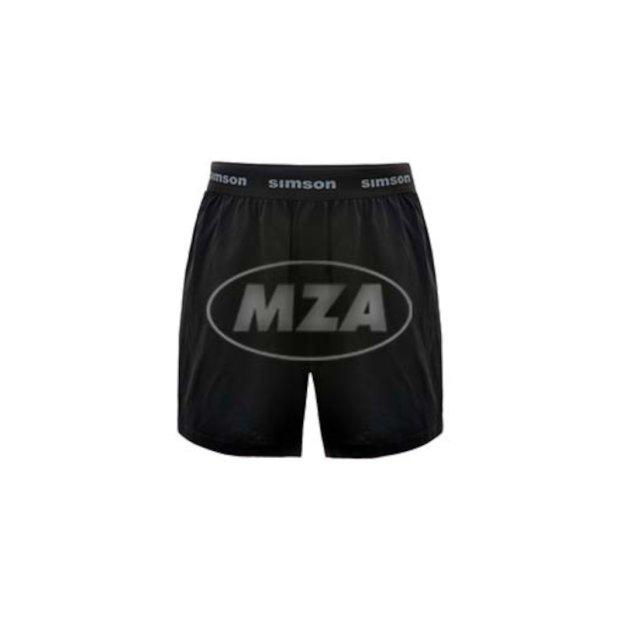 Boxershort, schwarz, Motiv: SIMSON
