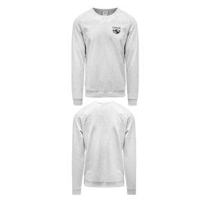 Herren-Sweatshirt, grau meliert, Motiv: SIMSON - 100% Baumwolle