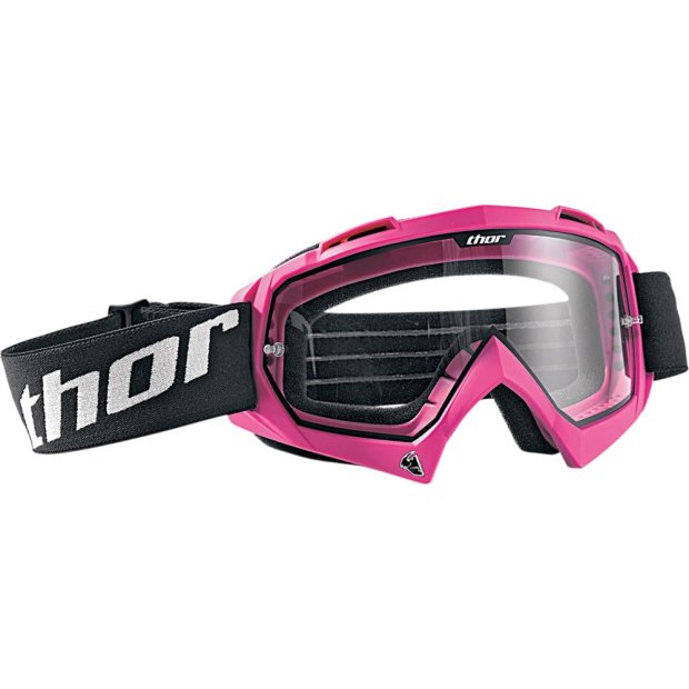 MX Brille Thor Enemy Solid pink